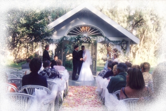 enchanted garden wedding. Elegant Garden Wedding