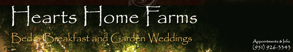 Hearts Home Farm Weddings